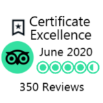 trip advisor award excellence June 2020